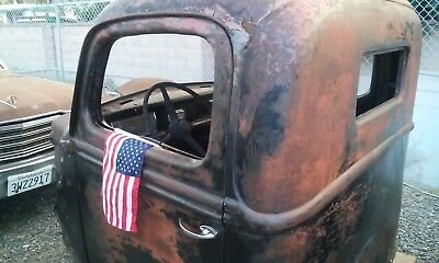 1941 1942 Ford Truck Cab & Doors Rat Rod Body