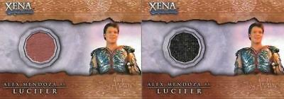 Xena Beauty and Brawn Alex Mendoza as Lucifer Costume Card Variants C13
