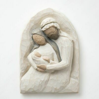 Willow Tree Holy Family Plaque  Mary, Joseph & Baby Jesus By Susan Lordi 26508