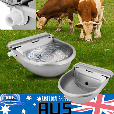 4L Automatic Float Valve Water Trough Bowl Drinking For Horse Sheep AU STOCK