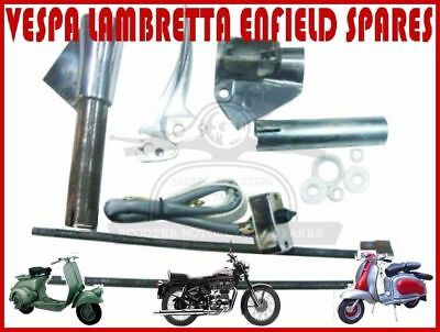 Lambretta  Li Polished Lever  Switch Gear Support Kit Series 2 @au