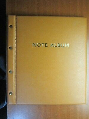 World notes in New Album App 76 Notes Uncirculated BULK LOT