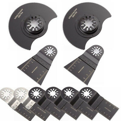 10Pcs Metal Saw Blade For Bosch Fein Multimaster Makita Oscillating Multitool