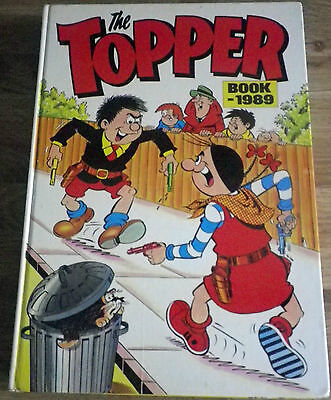 The Topper Book 1989. (Annual) D.C Thomson.
