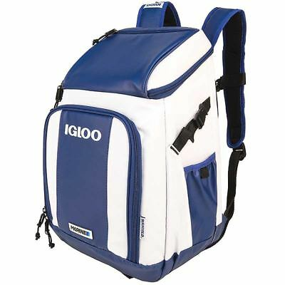 Igloo Marine Ultra Carry Ice Cooler Camping Back Pack Portable Cool Bag