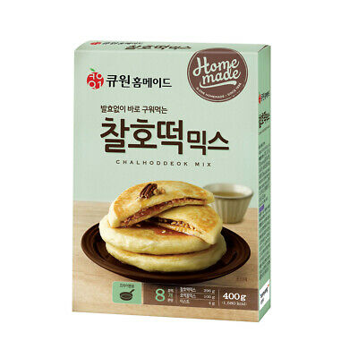 Korean Traditional Street Food HOTTEOK Sweet Rice Pancake Mix 400g/14oz 8serving