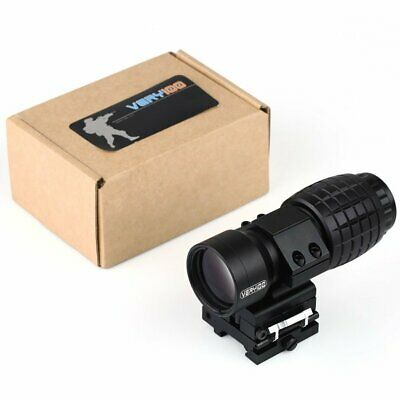 3X Magnifier Scopes Sights FTS Flip to Side For Eotech Aimpoint/Similar VERY100