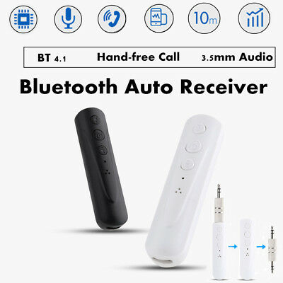 Wireless Bluetooth Receiver Music Car Handfree 3.5mm AUX Audio Stereo Adapter M2