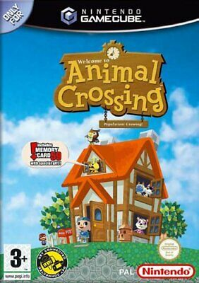 Animal Crossing with Memory Card 59 (GameCube) - Game  TXVG The Cheap Fast Free