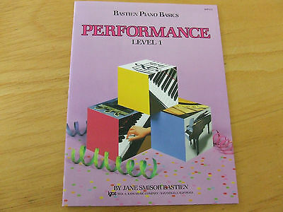 Bastien Piano Basis Performance Level 1     WP211