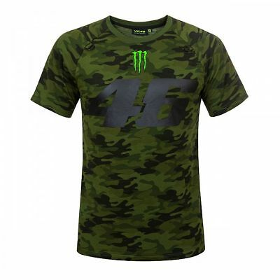 VR46 Official Valentino Rossi Monster Camo T Shirt - MOMTS 317408