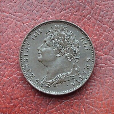 George IV 1822 copper farthing