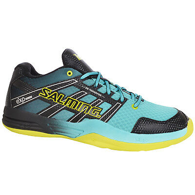 Salming Mens Race X Squash Indoor Court Sports Training Shoes Trainers - 11.5UK