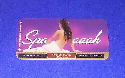 The Orleans Hotel Casino Las Vegas Room Key Card