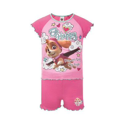 PAW Patrol Official Gift Baby Toddler Girls Short Pyjamas