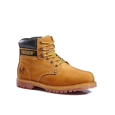 KINGSHOW Men's 8036 Classic Work Boots