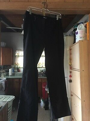 INC Black Stretch Pants Sz 12 P.
