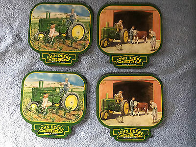 John Deere Coasters - Set of 4