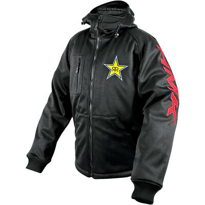 HMK Hooded Tech Shell Jacket Rockstar/Black