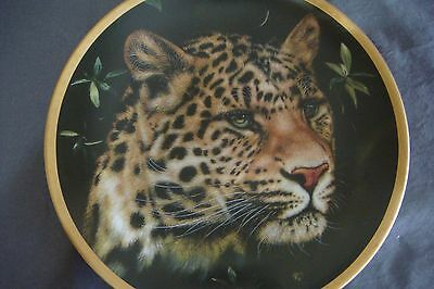 "Lenox Big Cats Of The World Plate Collection: ""chinese Leopard"""