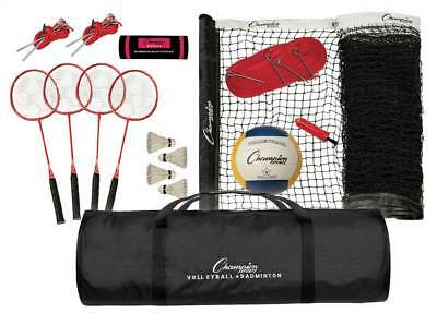 Tournament Series Volleyball and Badminton Set [ID 3474221]