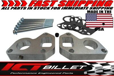 "Billet 3/4"" WATER PUMP SPACER Truck Camaro Adapter Swap kit LQ4 LS1 5.3l LSX LQ9"