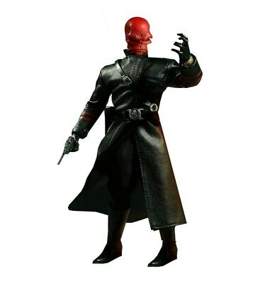 Mezco The One 12  Captain America Red Skull