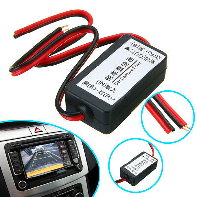 1x 12V DC Power Relay Capacitor Filter Rectifier for Car Rear View Backup Camera