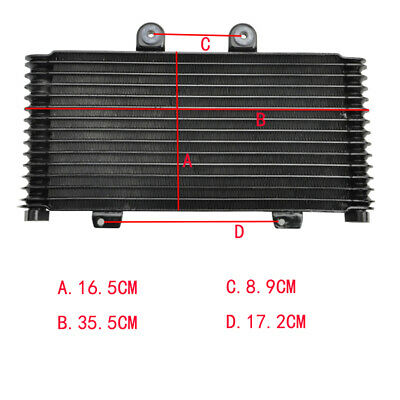 Oil Cooler Radiator for Suzuki Bandit 1200 GSF1200 2001-2005 Assembly 01-05 04