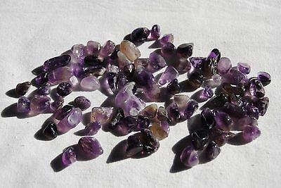 Amethyst Mini Tumbled Stones - 50 Grams - 82pcs - Free Postage