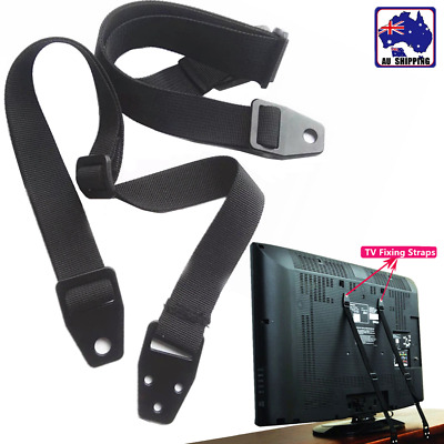 2pcs Anti-Tip Safety Strap TV Furniture Fix Band Baby Proof Strap VSB000807x2