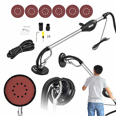 Commercial Drywall Sander 800W Electric Adjustable Variable Speed Sanding Pad