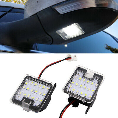 1Pair Error Free LED Side Mirror Puddle Light for Ford Mondeo MK4 IV 2007-2014