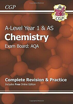 A-Level Chemistry: AQA Year 1 & AS Complete Revision & Practice ... by CGP Books