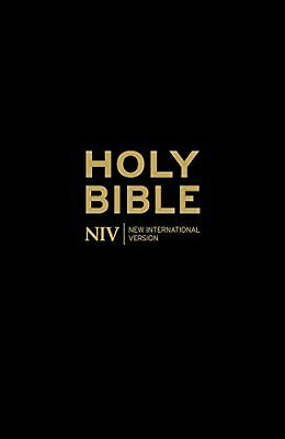 NIV Holy Bible - Anglicised Blac by New International Version New Paperback Book