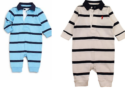 Baby boys romper rugby designer 3 6 9 months outfit playsuit coverall