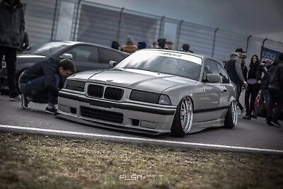 BMW E36 FATLIP V1 (front bumper lip) BY MUSK CUSTOMS