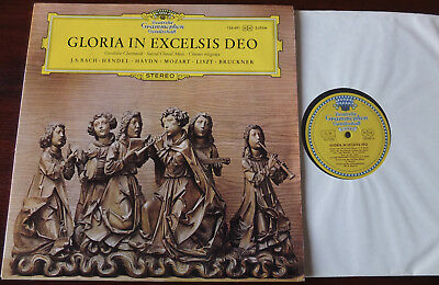 Dgg 136 491 Gloria In Excelsis Deo Sacred Choral Music Lp Ex++ Tulips (1969 )