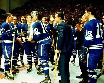 Toronto Mape Leafs 1967 Stanley Cup Champions 8x10 Photo