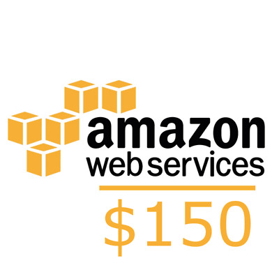 Aws Credits 150$ Code for Amazon Web Services EC2 SQS RDS Promocode