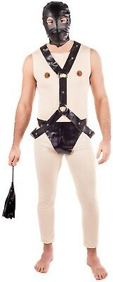 Mens Bondage Stag Do Night Party Funny Comedy Rude Fancy Dress Costume Outfit