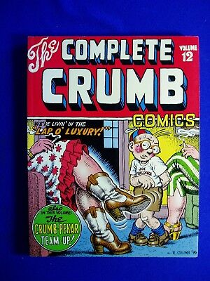 "The Complete Crumb Comics vol 12 : ""Lap O Luxury!"". First  edition.  VFN."