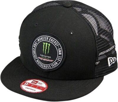 Pro Circuit Patch Mens Trucker Snapback Hat Black/Green/White OS