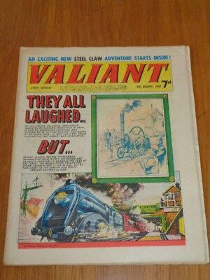 Valiant 5Th August 1967 Fleetway British Weekly Comic*
