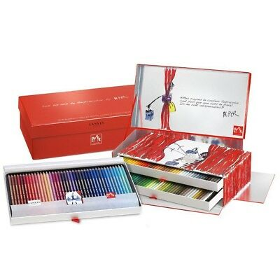 CARAN D'ACHE SUPRACOLOR SOFT 20th ANNIVERSARY LIMITED EDITION SET of Pencils