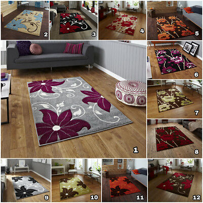 Flowery Small To Large Area Rugs Modern 12Mm Thick Pile Best Quality Verona Rug