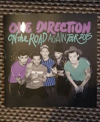One Direction On The Road Again Tour 2015 Programme