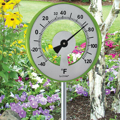 NEW Lollipop Garden Thermometer - Measures From -40 To 120 Degrees Fahrenheit