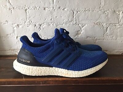 ADIDAS ULTRA BOOST 2.0 Collegiate Royal Blue Mens Size 8.5