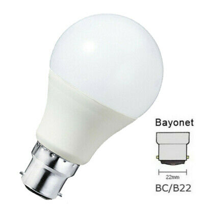 LED Bayonet Cap GLS Lamp Light Bulb Cool Daylight White 6400K SAD Healthy White